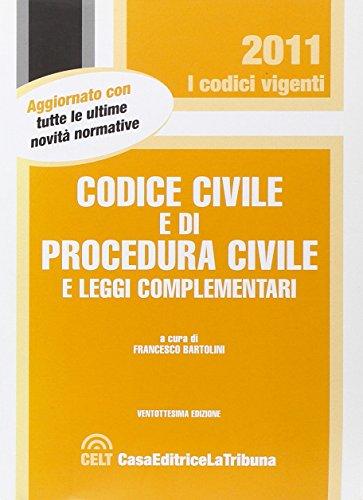9788861326798: Codice civile e di procedura civile