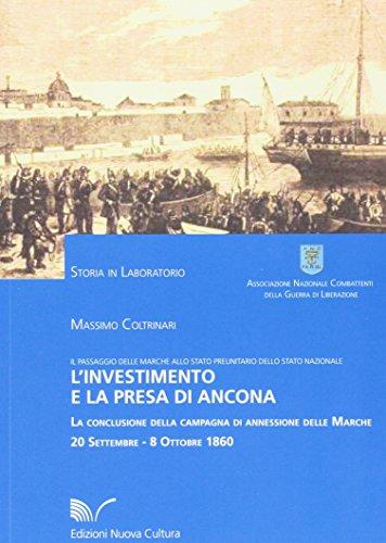 9788861345034: L'investimento e la presa di Ancona