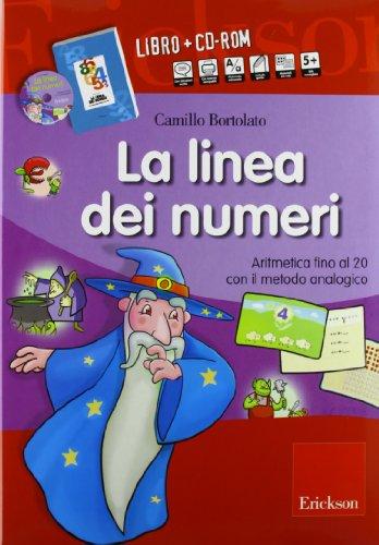 9788861377233: La linea dei numeri. Aritmetica con il metodo analogico. Kit. Con CD-ROM