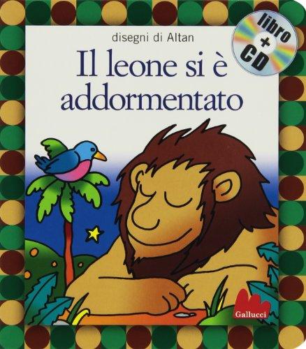 9788861450202: Gallucci: Il Leone SI E Addormentato + CD (Small Board Book)