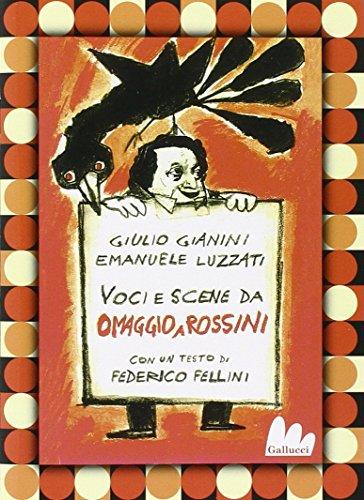 9788861451513: Omaggio a Rossini: La gazza ladra-L'italiana in Algeri-Pulcinella. 3 DVD. Con libro