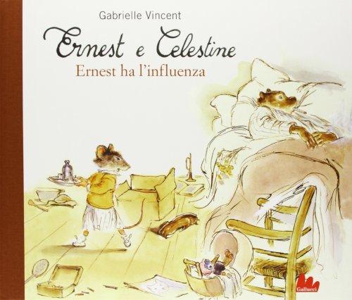 9788861456105: Ernest ha l'influenza. Ernest e Celestine (Illustrati)