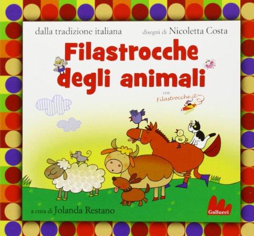 9788861456112: Filastrocche degli animali