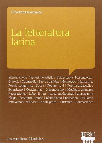 9788861599291: La letteratura latina. Con aggiornamento online
