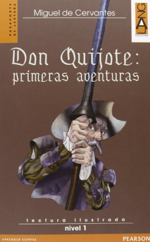 9788861611610: Don Quijote: primeras aventuras. Con CD Audio