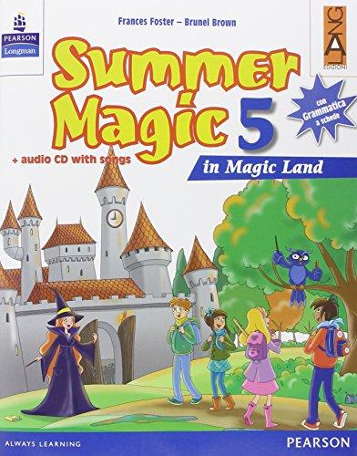 9788861611924: Summer magic. Per la 5ª classe elementare. Con CD Audio
