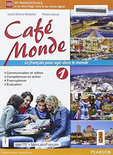 9788861614840: Cafè monde. Ediz. mylab. Per le Scuole superiori. Con e-book. Con espansione online: 1