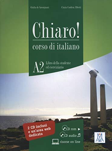 9788861821491: Chiaro!: Libro + CD-Rom + CD Audio (Level A2) (Italian Edition)