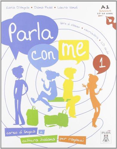 9788861821934: Parla con me: Libro + CD-audio 1