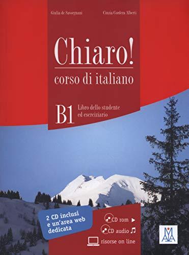 9788861822375: Chiaro!: Libro + CD-Rom + CD Audio (Level B1) (Italian Edition)