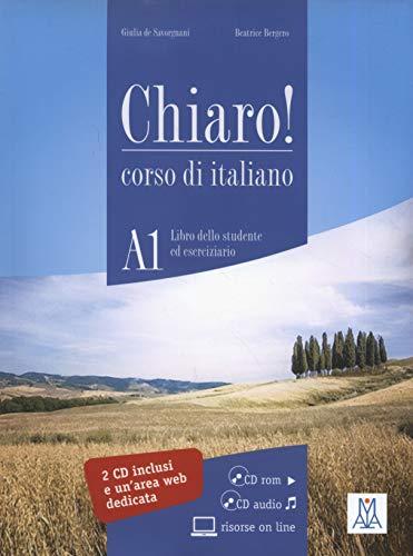 Chiaro!: Libro + CD-Rom + Audio CD: Alma Edizioni