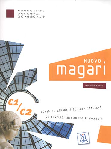9788861822856: Nuovo Magari: C1/C2 Libro + CD Audio (2) (Italian Edition)