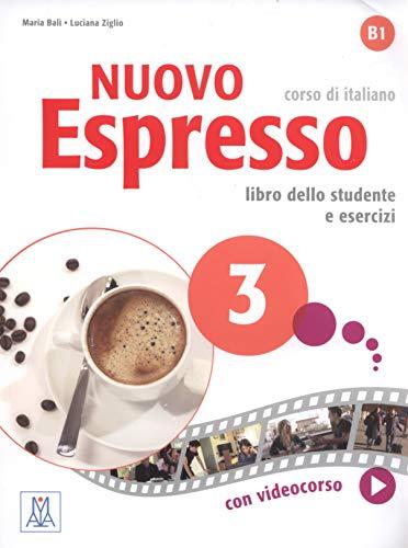 9788861823396: Nuovo espresso. Corso di Italiano. Libro dello studente e esercizi: 3