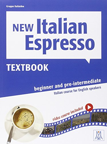 9788861823549: New Italian Espresso: Textbook + DVD-ROM - Beginner/pre-intermediate