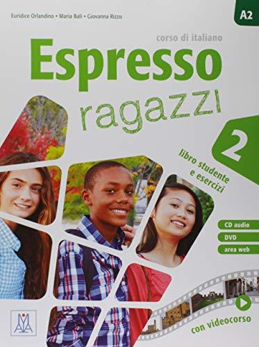 9788861824096: Espresso ragazzi. Corso di italiano. Con DVD-ROM: ESPRESSO RAGAZZI 2 AL + CD AUDIO + DVD