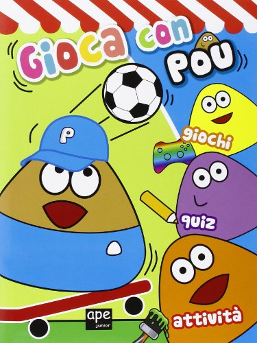9788861887008: Gioca con Pou. Giochi, quiz, attività. Ediz. illustrata