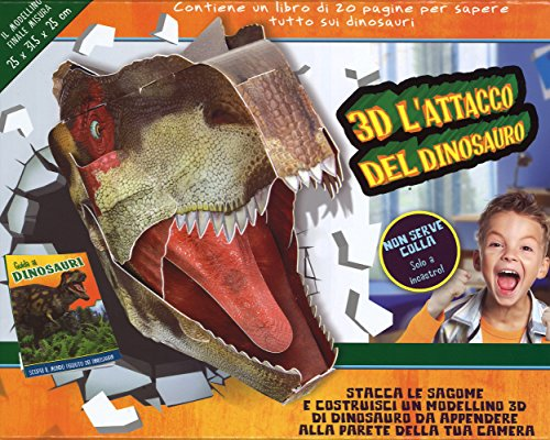 9788861889194: 3D l'attacco del dinosauro (Libri gioco)