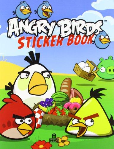 9788862128155: Angry birds. Sticker book. Con adesivi