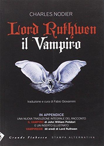 9788862221436: Lord Ruthwen il vampiro