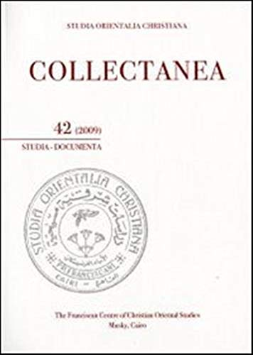 9788862401302: Studia orientalia christiana. Collectanea. Studia, documenta (2009). Ediz. araba, francese e inglese: 42
