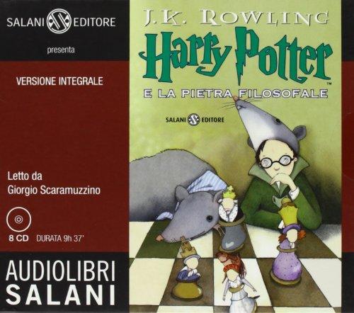 9788862560320: Harry Potter e la pietra filosofale letto da Giorgio Scaramuzzino. Audiolibro. 8 CD Audio: 1 (Audiolibri)