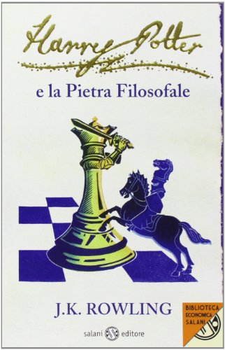 9788862561686: Harry Potter e la pietra filosofale (Italian Edition)