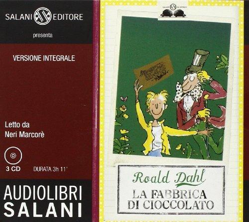 9788862562539: La fabbrica di cioccolato. Audiolibro. 3 CD Audio