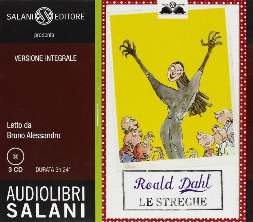 9788862569361: Le streghe. Audiolibro. 3 CD Audio. Ediz. integrale