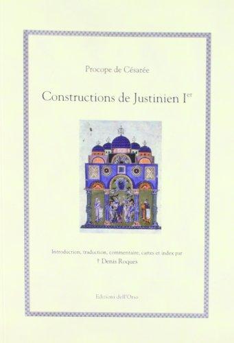 9788862742962: Procope de Césarée. Constructions de Justinien Ier (Hellenica)