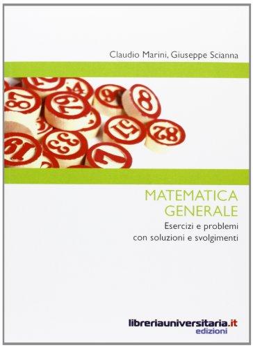 9788862921817: Matematica generale
