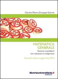 9788862924146: Matematica generale