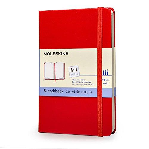 9788862930307: MOLESKINE SKETCHBOOK POCKET, RED, HARD BY MOLESKINE[HARDCOVER]