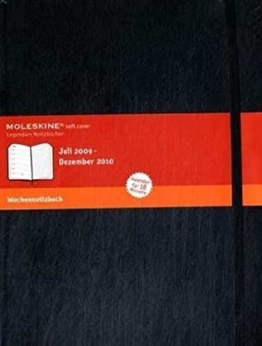9788862930413: 2010 Moleskine Extra Large Weekly Notebook 18 Months Soft (Moleskine Diaries)