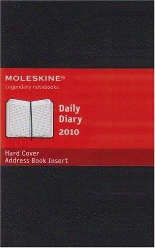 Moleskine Daily Planner 2010 12 Month Pocket Hardcover Black (Moleskine Srl): Moleskine