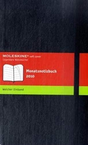 9788862930819: 2010 Moleskine Extra Large Monthly Notebook 12 Month Soft (Moleskine Diaries)