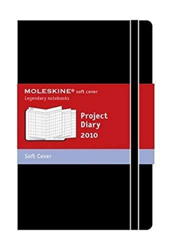 9788862931359: Agenda planificateur de projet 2010 poche couv souple noir (Moleskine Diaries)