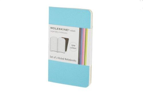 9788862931397: Moleskine Ruled Volant Notebook Sky Blue XSmall (Moleskine Srl)
