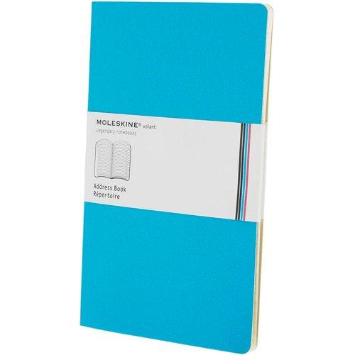 9788862931472: Moleskine - Carnet Volant Ligne, color azul, pack de 2 unidades (Moleskine Volant)