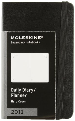 9788862933452: 2011 Moleskine Extra Small Lime Green Daily Diary 12 Months Hard (Moleskine Diaries)