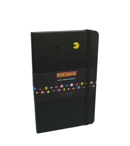 9788862935609: Moleskine Pac-man Black Large Ruled Limited Edition Notebook