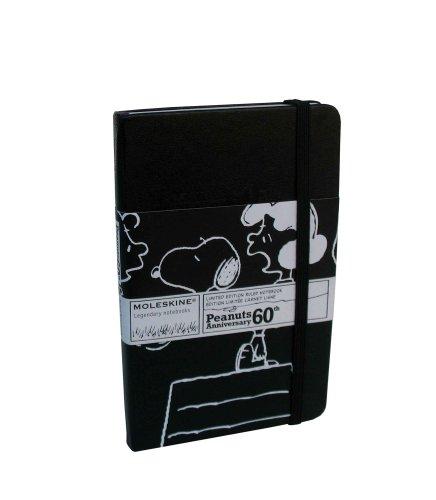 Moleskine Limited Edition: Peanuts Black Ruled Pocket: Moleskine