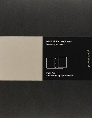 Moleskine Folio Professional Plain Pad Letter: Moleskine