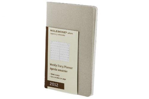 9788862936705: Agenda cahier semainier 2012 ble (Moleskine Diaries)