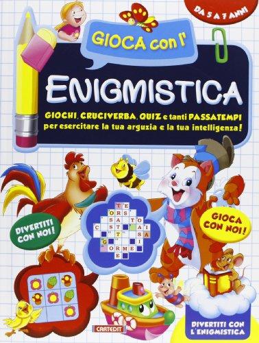 9788863092752: Gioca con l'enigmistica. Ediz. illustrata