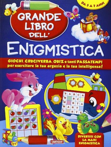 9788863092783: Grande libro dell'enigmistica. Da 5-7 anni (Divertiti con la maxi enigmistica)