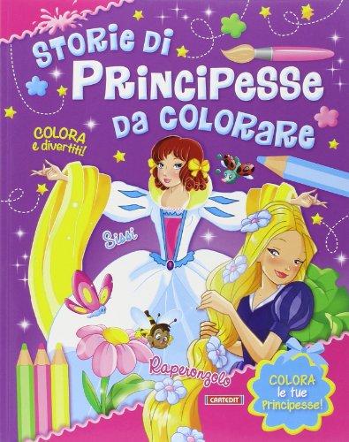 Sissi-Raperonzolo. Storie di principesse da colorare: aa.vv.