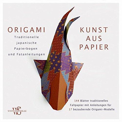 9788863121391: Origami - Kunst aus Papier: Set mit 144 Origami-Faltbogen im Kimono-Style, sowie detaillierte Faltanleitungen für Anfänger und Profis: Traditionelle japanische Papierbogen und Faltanleitungen