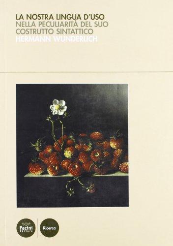 La lingua tedesca d'uso: Wunderlich, Hermann