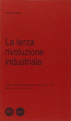 La terza rivoluzione industriale. L'Italia è una: Roberto Ippolito