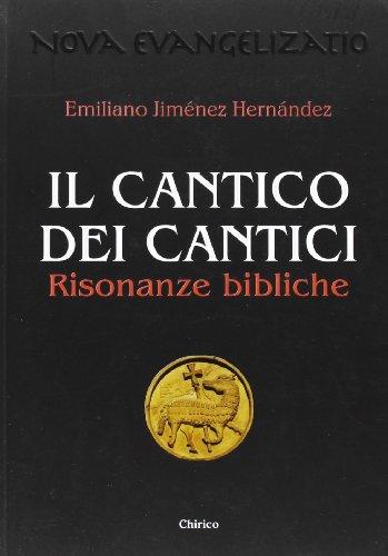 9788863620306: Il Cantico dei cantici. Risonanze bibliche